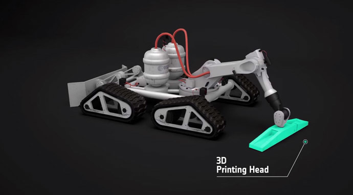 Robot 3D Printer
